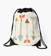 Four Arrows Drawstring Bag