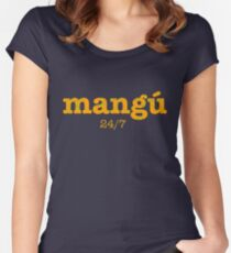 Mangú a cualquier hora Women's Fitted Scoop T-Shirt