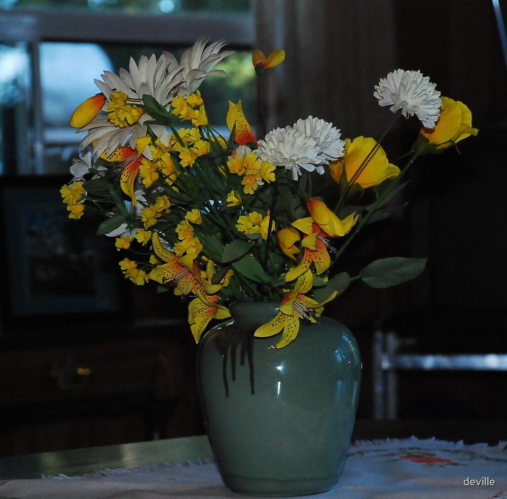 some vase by deville