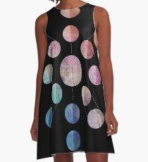 Lunar Cycle (Dark) A-Line Dress