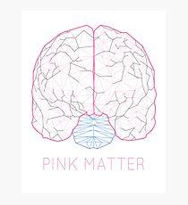 Pink Matter Photographic Print