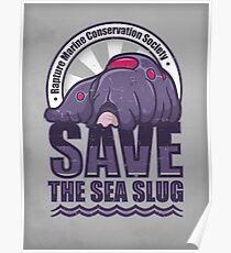 Save the Sea Slug Poster