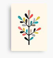Modern Branch Canvas Print