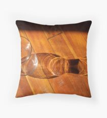 Glass Shadow Throw Pillow