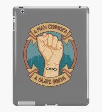 A Slave Obeys iPad Case/Skin