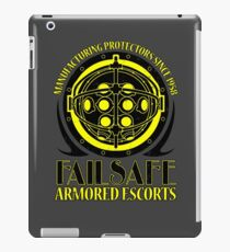 Failsafe Armored Escorts worn iPad Case/Skin