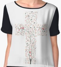 Tree Of Life Women's Chiffon Top