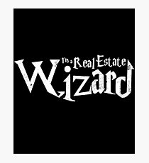 Real Estate Wizard Photographic Print