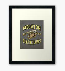 Megaton Deathclaws Framed Print