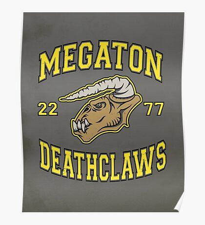 Megaton Deathclaws Poster