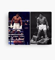 Joshua & Ali Stand Tall Canvas Print