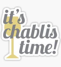 Chablis Time Sticker