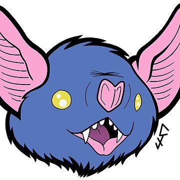 Bat face 5 de ChrisJeffery