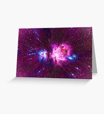 Star Wars Hyper Space Art  Greeting Card