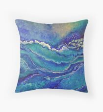What Waves Wash Over Throw Pillow