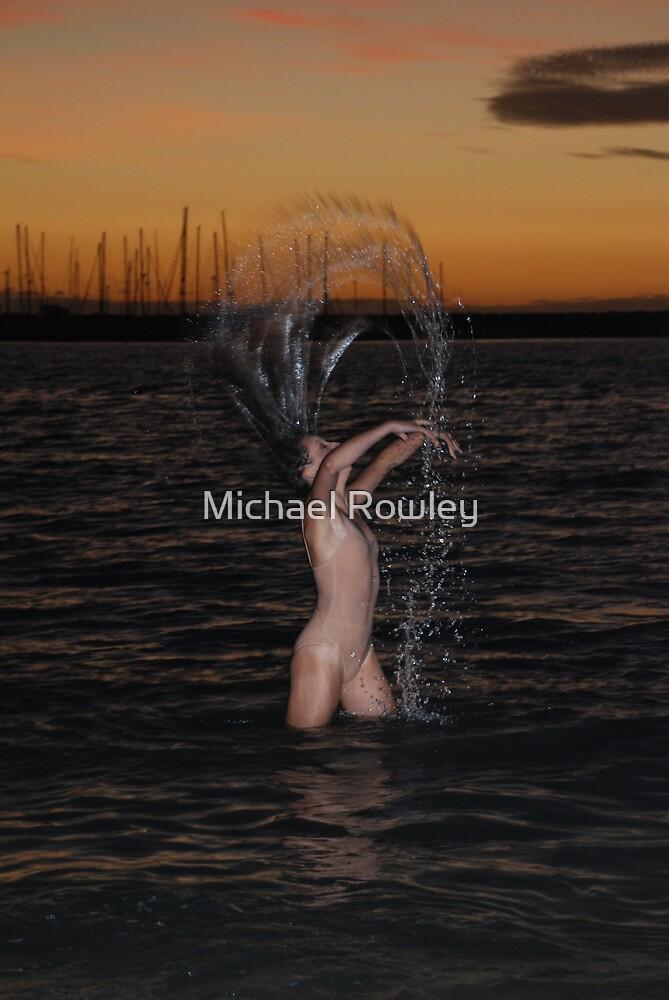 Refreshing Woman by Michael Rowley