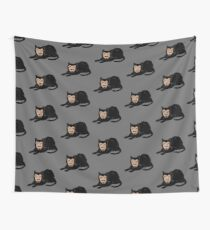 Vlad the Cat (Gray) Wall Tapestry