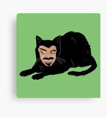 Lienzo Vlad el gato (verde)