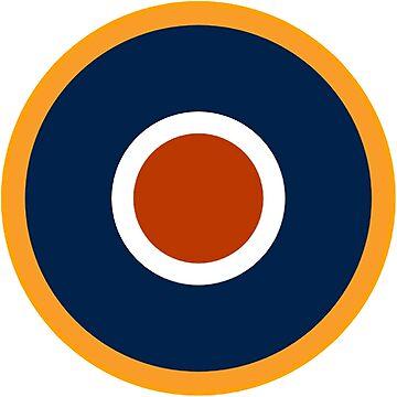 WAR, Spitfire, Bulls eye, Target, Archery, Plane, Aircraft, Flight, Wing, on white by TOMSREDBUBBLE
