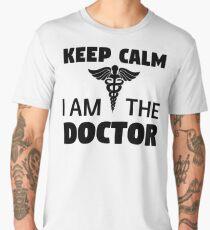 Keep Calm I'm The Doctor Men's Premium T-Shirt