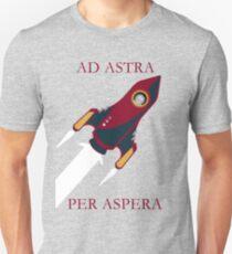 Ad Astra, Per Aspera Unisex T-Shirt