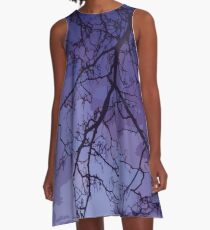 Bare Branches At Dusk A-Line Dress