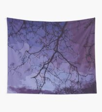 Bare Branches At Dusk Wall Tapestry