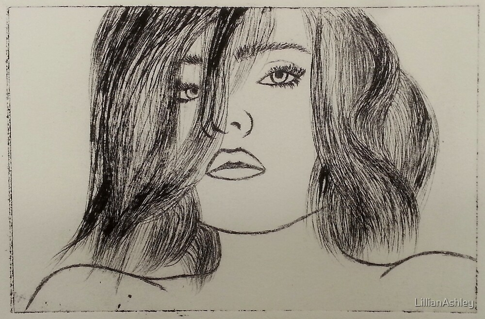 Etched Girl by LillianAshley