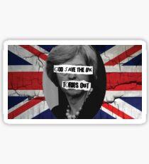 GOD save the UK Sticker