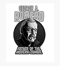 George A. Romero B&W Photographic Print