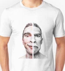 happy sad emotional face T-Shirt