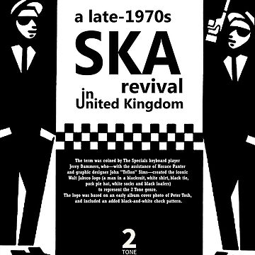 The Ska Revival In UK by jeanninedespins