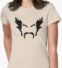 HeiHachi Mishima Tekken Black Womens Fitted T-Shirt