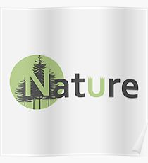 Nature logotype Poster