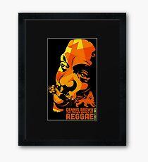 The Crown Peace of Reggae Framed Print