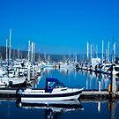 Reflection Of Fishing Boats by Tina Hailey