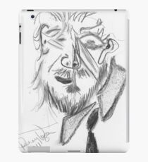 Jeff Bridges (Cubist portrait) (2011) iPad Case/Skin