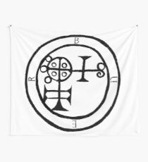 Buer Sigil Wall Tapestry