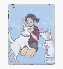 kirstin maldonado - olaf and pascal iPad Case/Skin