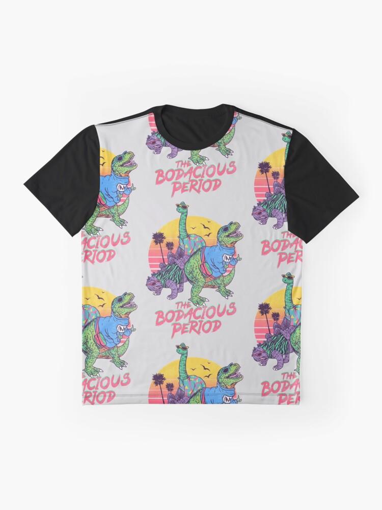 Alternative Ansicht von Die Bodacious-Periode Grafik T-Shirt
