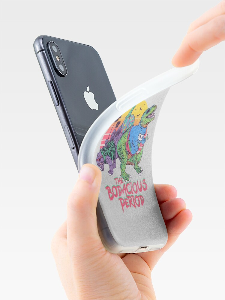 Alternate view of The Bodacious Period iPhone Cases & Covers