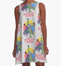 Die Bodacious-Periode A-Linien Kleid