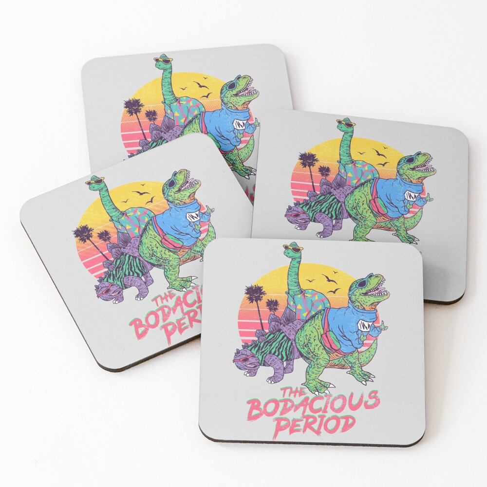 The Bodacious Period Coasters (Set of 4)