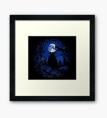 Under the moon Framed Print