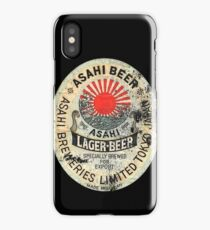 japanese beer iPhone Case