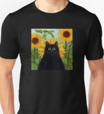 Dan de Lion with Sunflowers Unisex T-Shirt