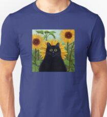 Dan de Lion with Sunflowers Unisex T-Shirt