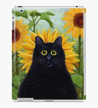 Dan de Lion with Sunflowers iPad Case/Skin