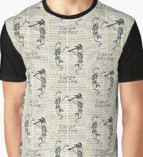 Lovely Bones Series - Carpe Noctem vintage book Multi  Graphic T-Shirt