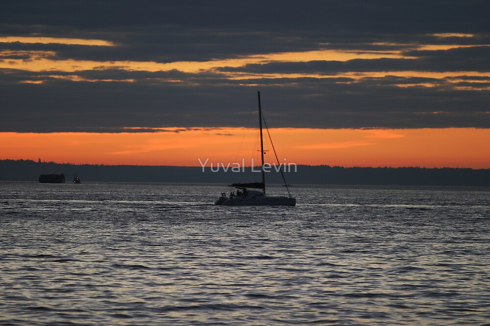 Pacific Sunset by Yuval Levin